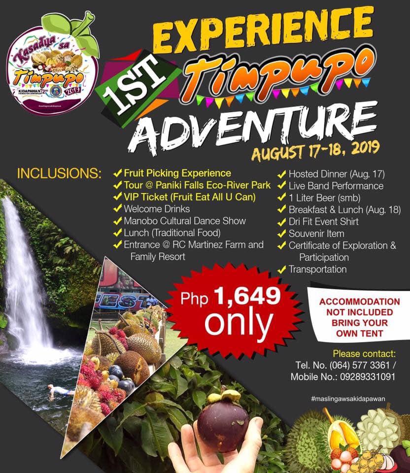Fruits & Fun Overload at Kidapawan City's Timpupo Festival