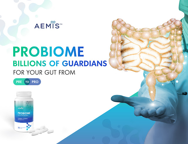 AEMIS PROBIOME Billions of guardians for your gut from Prebiotic to Probiotic