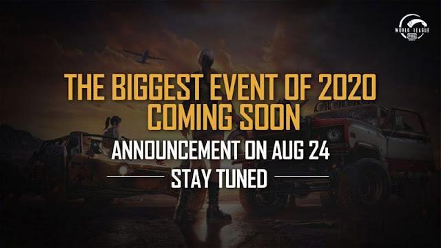 PUBG Mobile, 24 Ağustos'ta 2020'nin en büyük turnuvasını açıklayacak