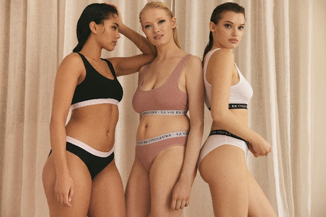 LEFTIES UNDERWEAR WOMAN COLLECTION SOFT COLORS