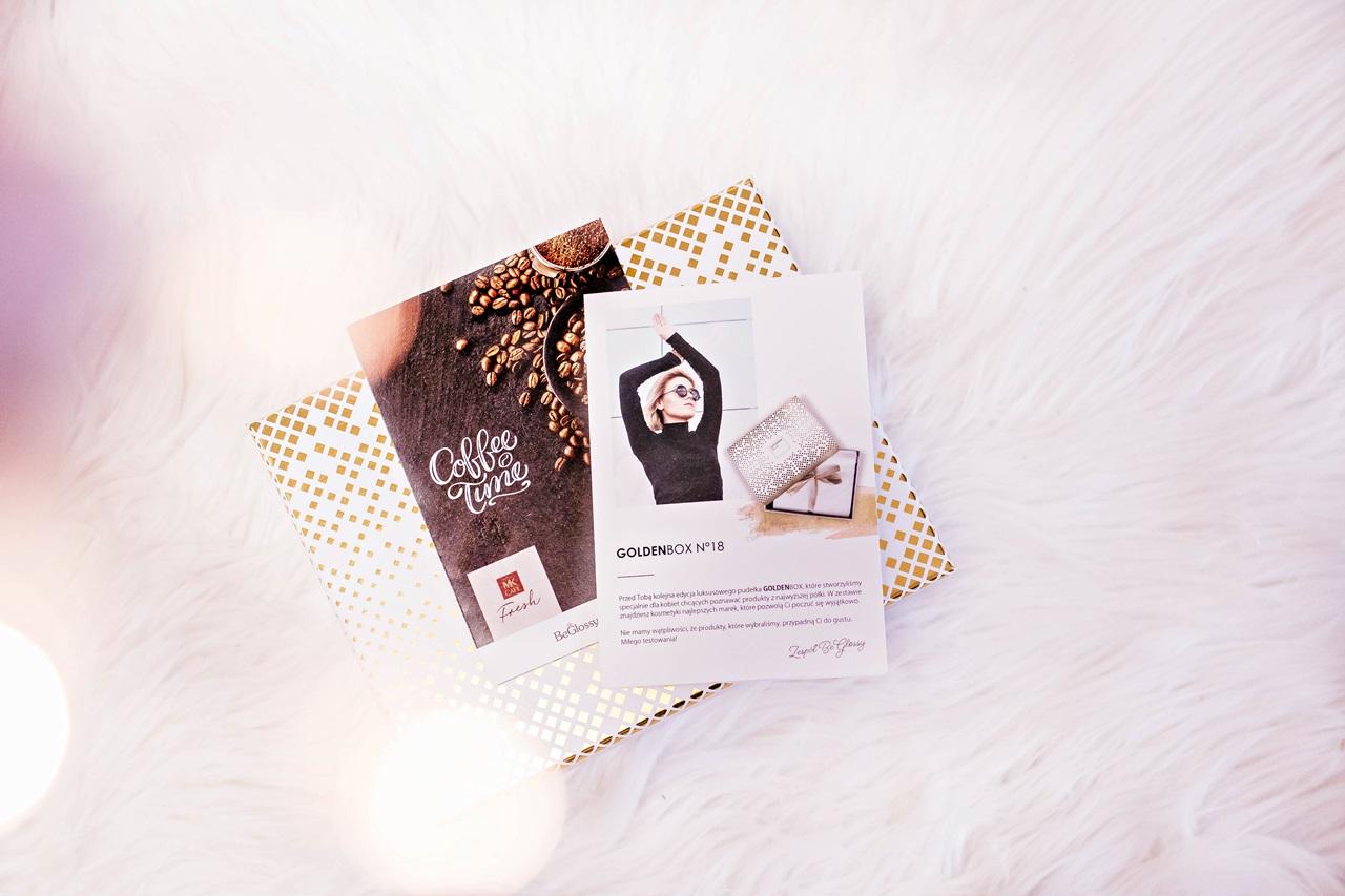 5 najciekawszych produktów z beGLOSSY Coffee Time i GoldenBox no.18