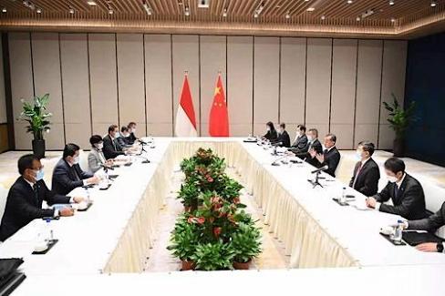 Retno Marsudi, Muhammad Lutfi dan Erick Thohir Bahas Penguatan Kerja Sama Bilateral RI - Tiongkok