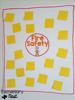 Fire Safety Activities and Lessons for the Primary classroom (with a freebie)