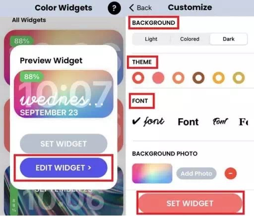Cara Mengubah Warna Widget di iPhone (iOS 14)-3