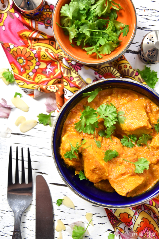 Uncharted Curry aus Indien aka traditionelles Chicken Korma
