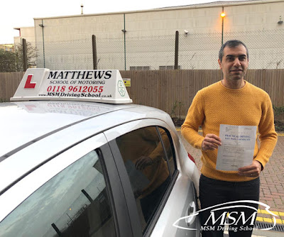 Driving Lessons Reading; Driving Schools Reading; Driving Instructors Reading; MSM Driving School; Matthews School Of Motoring;