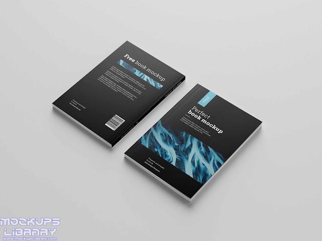 free book mockup 2