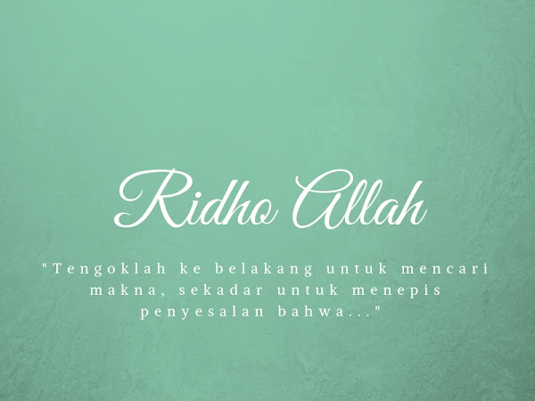 Ridho Allah