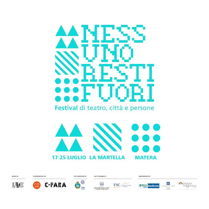 Matera, ''Nessuno Resti Fuori 2021'': il festival di teatro, città e persone