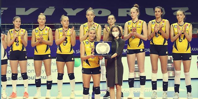 Vakifbank vice-campeão da Copa da Turquia