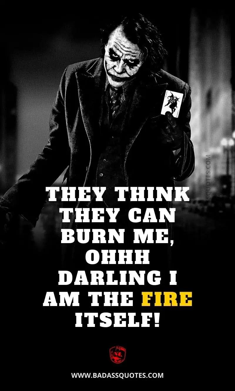 Joker Quotes on Attitude