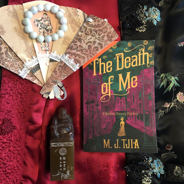 Heloise Chancey mystery, books set in Victorian London, Chez Maximka, book blogger
