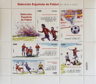 SELECCIÓN ESPAÑOLA DE FÚTBOL DE 1970 A 2010
