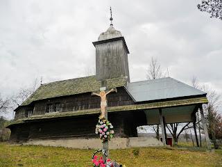 Ольховица. Мукачевский район. Закарпатская обл. Свято-Дмитриевская церковь