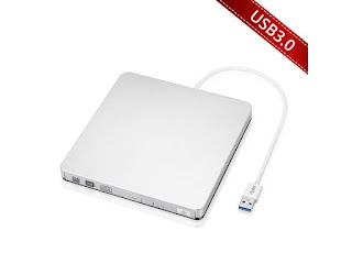 VicTsing USB 3.0 Slim External DVD-RW CD-RW Drive Burner