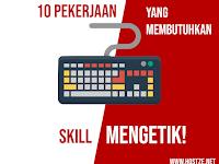 Kamu Pandai Mengetik? Inilah 10 Pekerjaan Yang Membutuhkan Skill Mengetik!