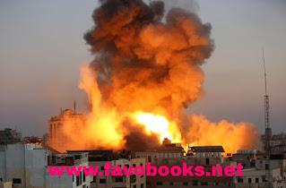 غزه تحترق
