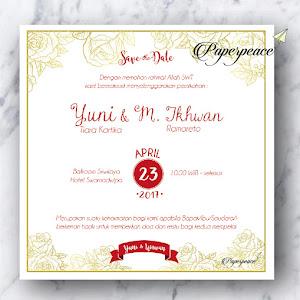 paperpeace Javanese E invitation
