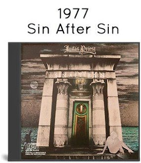 1986 - Sin After Sin [Columbia, CK 34787, USA]