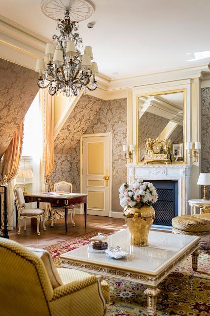 Breathtaking feminine romantic luxury interior renovated Ritz Paris