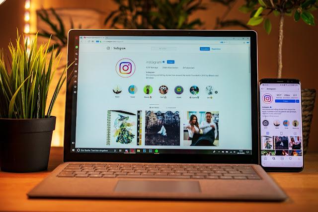 كيفية نشر الصور على حساب إنستجرام  instagram  من الكمبيوتر