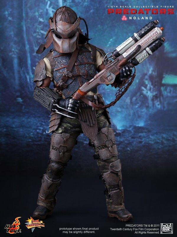 1//6 Scale Toy Predators Noland Helmet Set