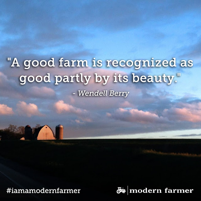 A Good Farm Is Recognized As Good Partly By Its