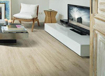 memilih lantai vinyl untuk ruang tamu