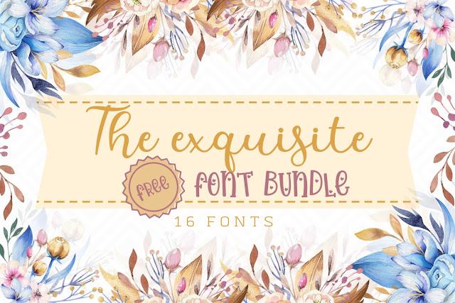 The Exquisite Font Bundle