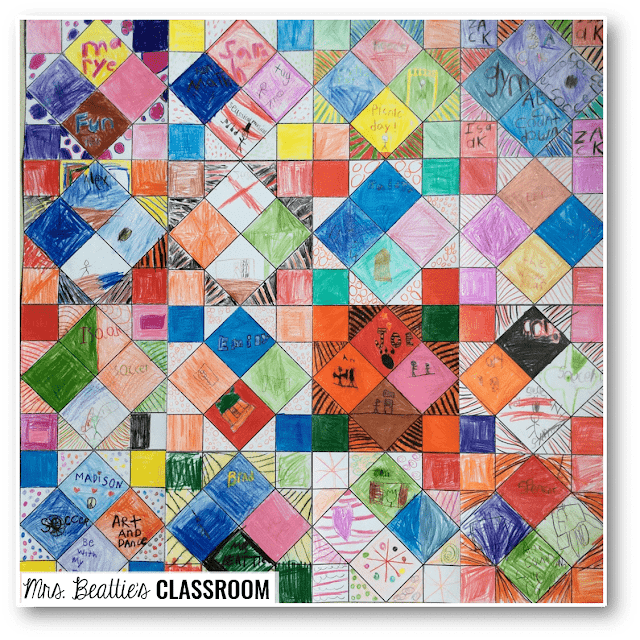 Photo of memory quilt resource