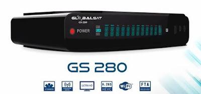 Globalsat GS 280 HD By Snoop Eletronicos2 - GLOBALSAT GS280 HD 3 TURNERS NOVA ATUALIZAÇÃO V1.8949 - 20/12/2017
