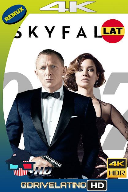 007 Skyfall (2012) BDRemux 4K HDR Latino-Ingles MKV