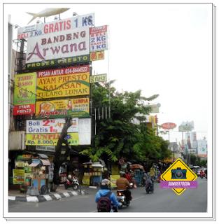 Pusat oleh oleh semarang jalan pandanaran
