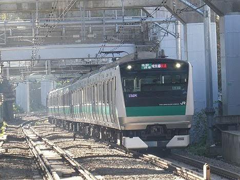 埼京線直通 各駅停車 海老名行き1 E233系