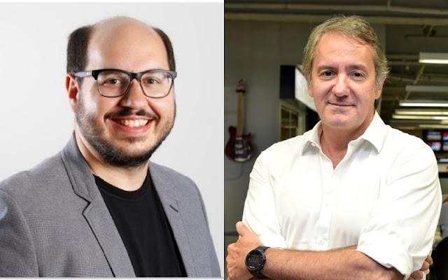 Diego Vieira e Gilberto Corazza