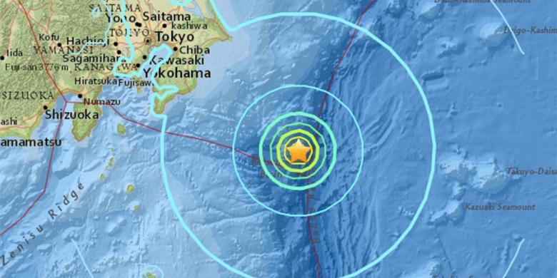 Jepang Mengeluarkan Peringatan Tsunami