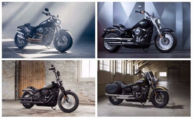 Harley-Davidson  Launched 2018 Softail Series at Rs 11.99 Lakh in India.