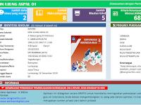 Aplikasi Raport K13 SD Kelas 1 s/d 6 Semester 1 2019
