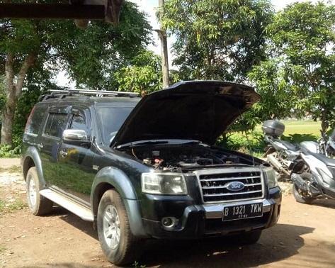 Mobil Wartawan Raib Di Bengkel Ferlindo Engineering, Kelapa Dua Tangerang
