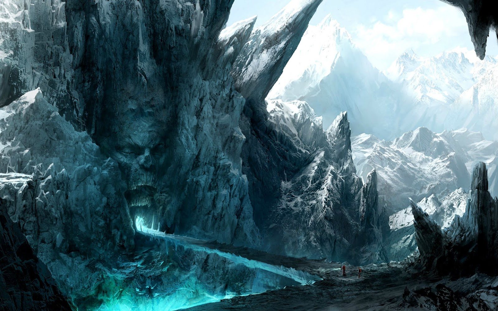 Imaginary Hell Gate Landscape