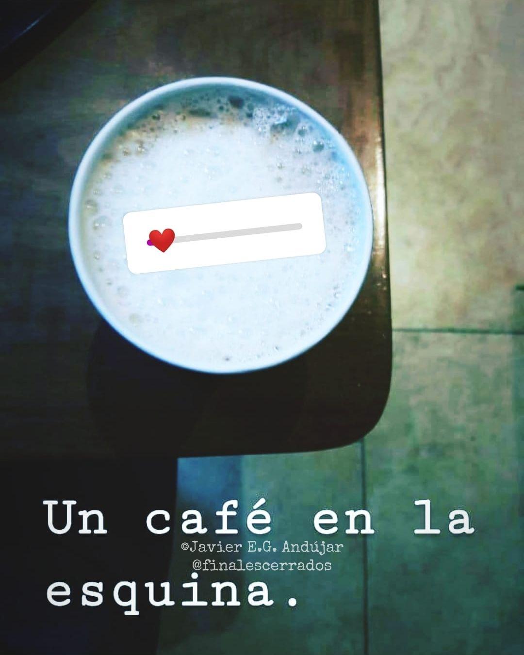 Un café en la esquina
