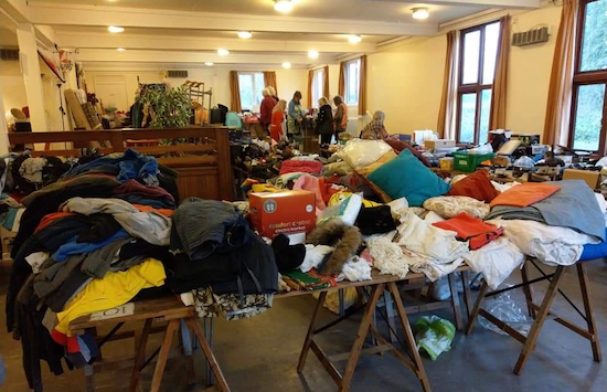 The North Mymms Youth and Community Centre jumble sale image courtesy of Martin Ferdinando