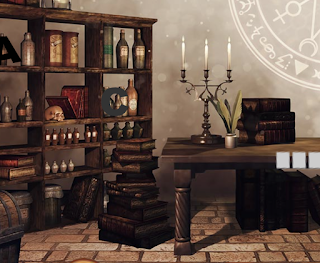 The Old Alchemist's House