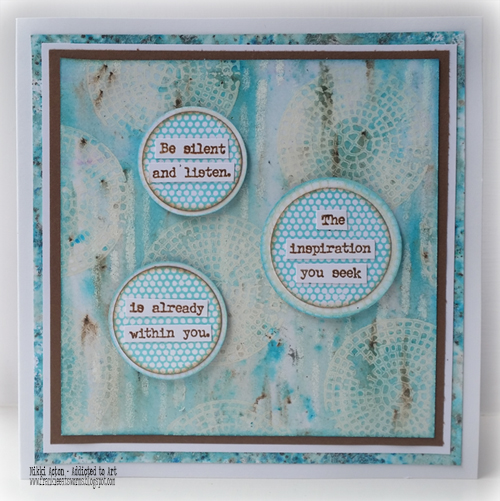 PaperArtsy Eclectica EAB 03 Alison Bomber - new stamps - by Nikki Acton