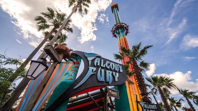Falcons Fury Busch Gardens Tampa em Orlando