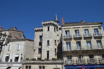 Périgueux. Plaça de l'Ajuntament