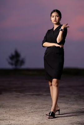 Evening Dress, fashion, style, romantic