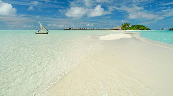 Beautiful Cocoa Island Maldives