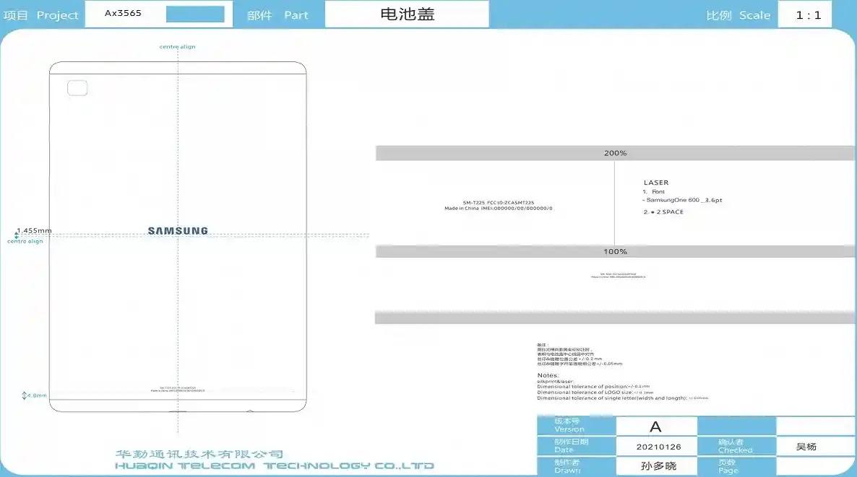 New Samsung Galaxy Tab Appears on FCC Database
