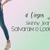 4 Vezes que Skinny Jeans Salvaram o Look!